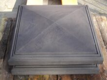 Paalmuts 4 zijdig aflopend 55 x 55 cm model 5