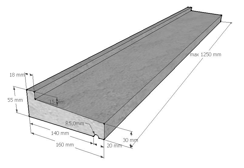 raamdorpel-160-30-55-mm
