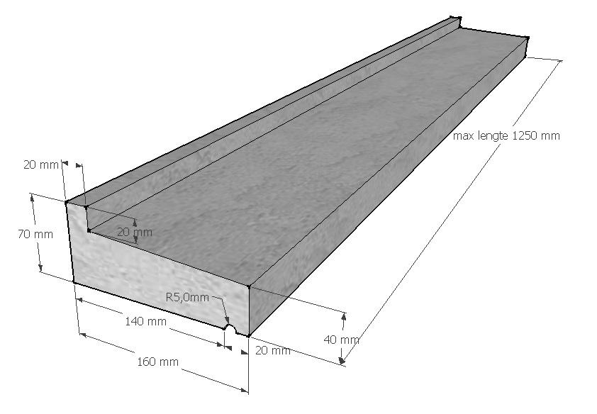 raamdorpel-160-40-70-mm